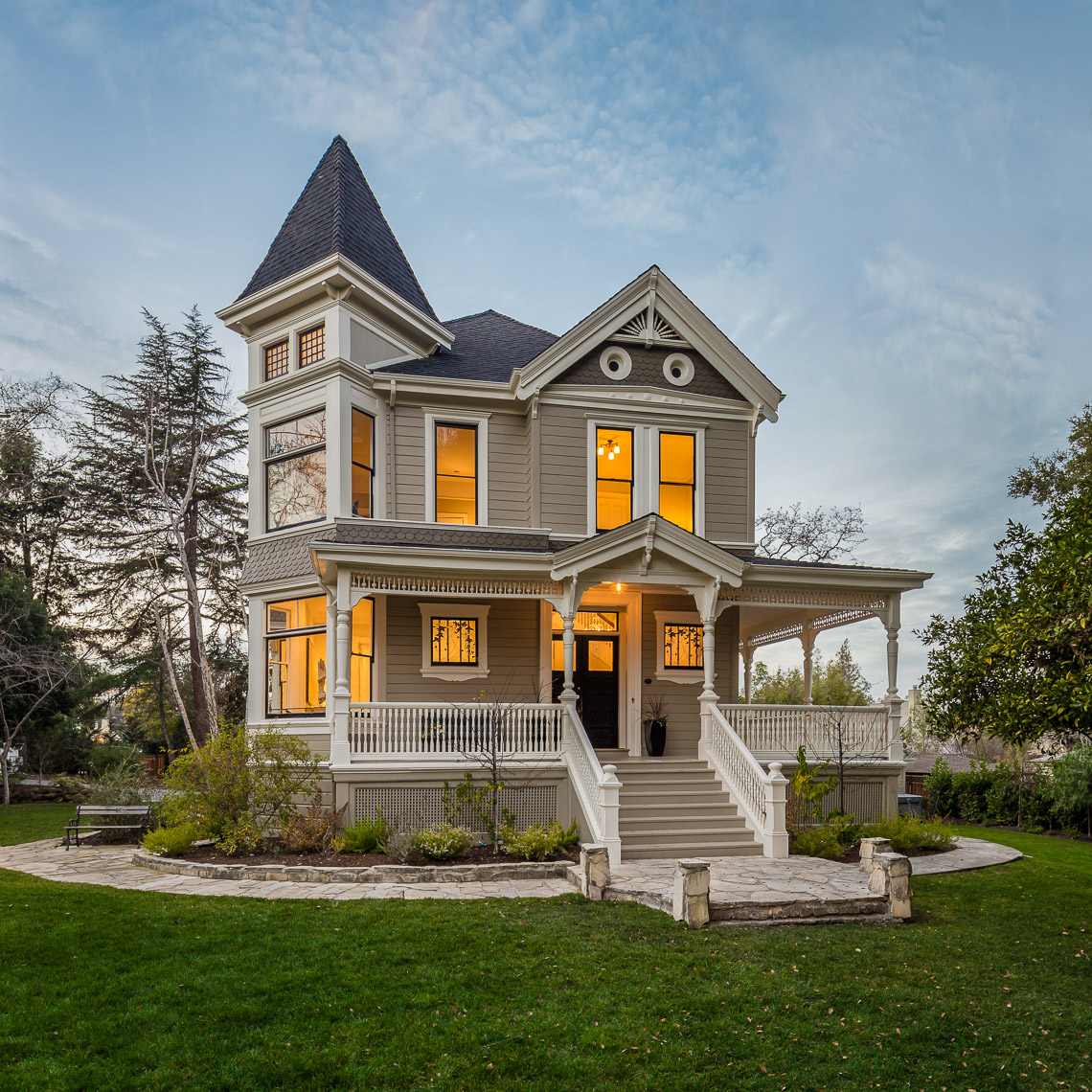 San Francisco Bay Area Victorian Home