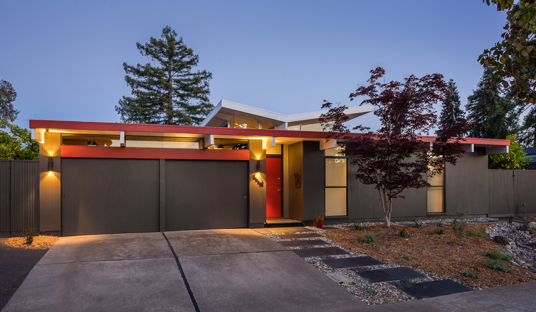 Eichler Home-Front Exterior